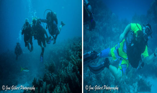 VAS Adaptive Scuba Divers, Key Largo 2017