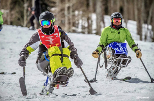 VAS Adaptive Skiers Competing at Snowmass CO 2017