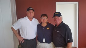 Peter More (Seals Museum), Kathy Romeo (VA), Bobby Symonds (VAS)