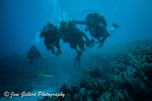 Adaptive Diver and Buddy Team